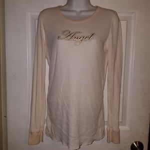 VICTORIA'S SECRET Thermal 'Angel' Sleep Shirt